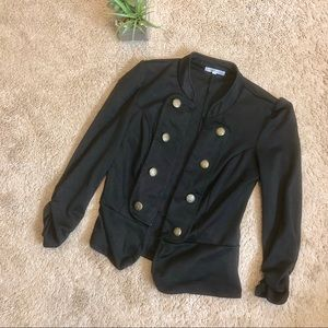 Charlotte Russe Jackets & Coats - Soft blazer with gold buttons